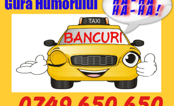 bancuri taxi gura humorului
