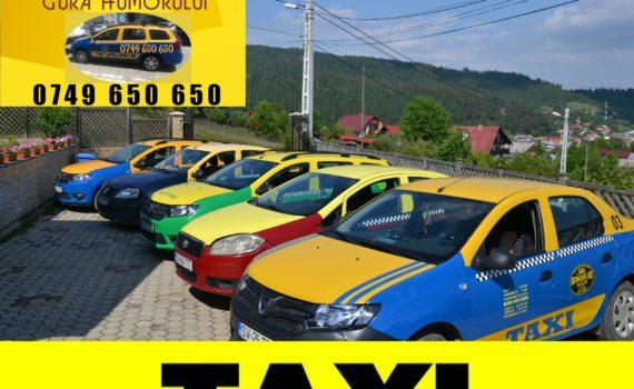 taxi gura humorului